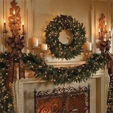 Gorgeous Fireplace Mantel Christmas Decoration Ideas _47