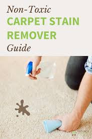 remove even the toughest carpet stains with a few simple non toxic ings you