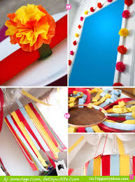 paper streamer decorations 19 and 20 streamer chandelier flower napkin ring flower garland