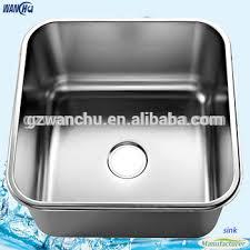 deep stainless steel sink. Deep Stainless Steel Kitchen Sink Metal Single Bowl Wash Basin/Water Tank