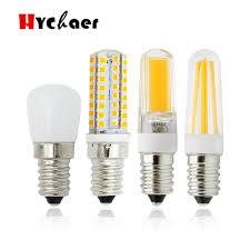 Mini Light Bulbs Us 1 16 25 Off 1pcs 6w 8w Spotlight Light E14 Led Mini Lamp 2w 3w 4w Bulbs Freezer Fridge Chandelier Cob Glass Dimmable Ac 220v In Led Bulbs Tubes