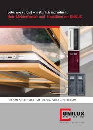 Uni We810 Katalog H Fenster Tueren 2013 By Rainer Harperscheidt Issuu
