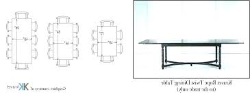 10 seater dining table size dining table dimensions dining table size dining table dimensions for 8 10 seater