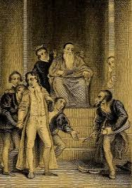merchant of venice examination questions and answers hard  from an illustration of shakespeare by branston 1800