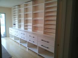 Custom Wall Unit for CDs Books Modern Home Office Los
