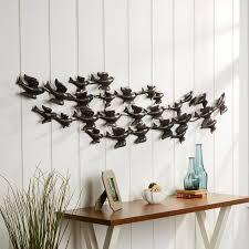 Decor Designs Decals Norman Ok Awesome Birch Lane™ Swallow Flock Metal Wall Decor Reviews Wayfair