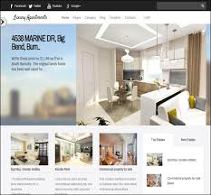 Apartment Website Design Inspiration 48 Top Real Estate Website Templates Make A Difference