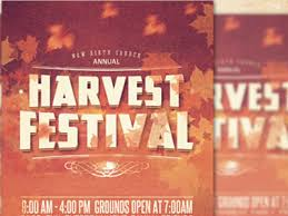 Harvest Festival Church Flyer Template By Mark Taylor - Dribbble