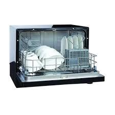 rv dishwasher vesta countertop black