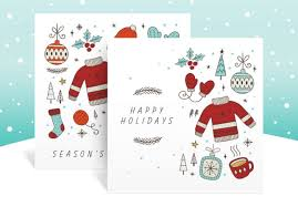 Holiday Templates Say Happy Holidays With Free Holiday Templates Adobe Blog
