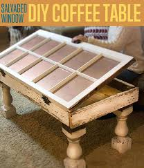 salvaged window coffee table unique tables diy ideas