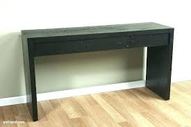 black finish console sofa table with drawer small dark wood drawers narrow black sofa table with drawers