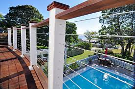 hog wire deck railing easy diy ideas draw your own plans build a lowe s cool