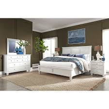Baldwin Park 5-piece Cal King Bedroom Set, White