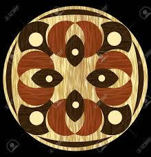 Wood Inlay Patterns Gorgeous Wooden Inlay Light And Dark Wood Patterns In Circle Composition