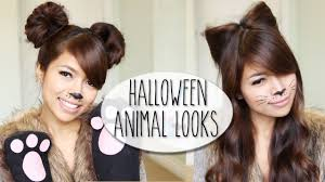 diy costume ideas bear cat ears hairstyle makeup tutorial you