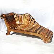funky wood furniture. chaise longue funky wood furniture o