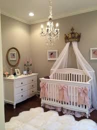 nursery chandelier baby nursery decor brown white baby