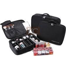 Professional Nylon Makeup Trolley Rolling Nail Polish Case - Buy ...