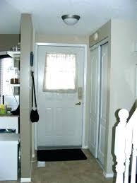 half glass exterior door 32x80 fiberglass with blinds s