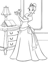 Contact princess tiana on messenger. Tiana And The Frog Coloring Page Disney Lol