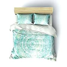 duvet covers green and cream mandala with good looking mint grey bedding gray wi