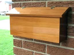 wooden mailbox designs. 4x4 Mailbox Post Plans How To Build A The . Wooden Designs