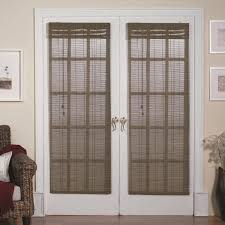 Magnetic Roman Shades for French Doors
