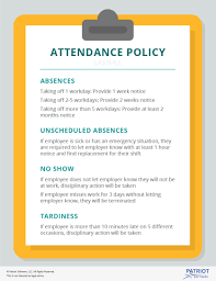 What To Include In Your Small Business Attendance Policy