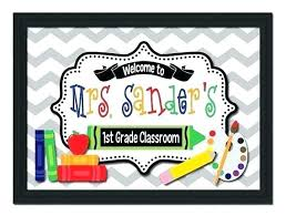 Templates For Signs Free Free Classroom Sign Templates Davidhdz Co