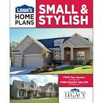 Lowe's home plans small and stylish