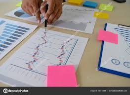 Research Stock Market Chart Paper Analysis Brainstorm