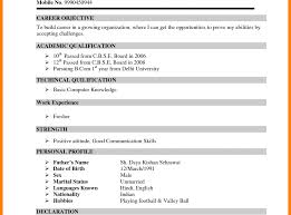 Fantastic Bcom Fresher Resume Sample Doc Download Photos Example
