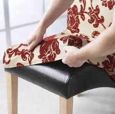 how to make retro chair cover for vine chairs