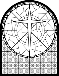 stained glass cross coloring page. Modren Glass Stained Glass Cross Coloring Page Crincin For Stained Glass Cross Coloring Page S