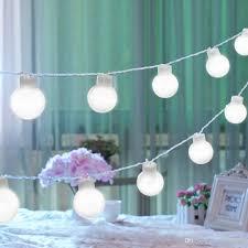 outdoor lighting balls. White 10 Led Ball Bulb Fairy String Light Garden Outdoor Christmas Scheme Of Lighting Balls L