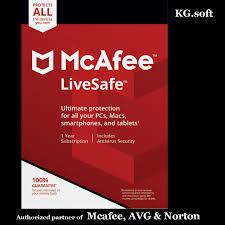10 device 1 year mcafee livesafe 2018 for 10 device for 1