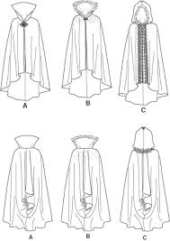 Cloak Sewing Pattern New Simplicity 48 Misses' Capes