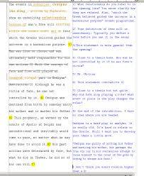 oedipus the king essay thesis oedipus rex essay 2 thesis statements