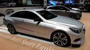 I intend to do the edp on my next benz. 2014 Mercedes Benz E Class E350 Coupe Exterior Interior Walkaround 2014 Geneva Motor Show Youtube