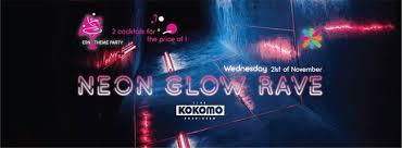 Rave Theme Party Esn Theme Party Neon Glow Rave Club Kokomo Groningen 21 11 2018