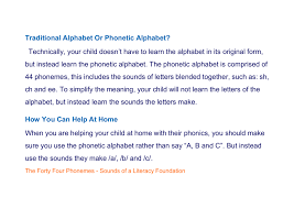 Though often called phonetic alphabets, spelling alphabets have no connection to phonetic transcription systems like the international phonetic alphabet. Traditional Alphabet Or Phonetic Alphabet