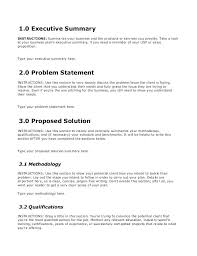 Business Consulting Proposal Template Scope Of Es Template