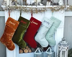 velvet christmas stockings. Unique Stockings Intended Velvet Christmas Stockings E