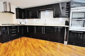 Black Gloss Kitchen Kitchens Nicholls Build