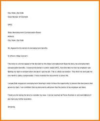 7 Unemployment Letter Sample Free Invoice Letter