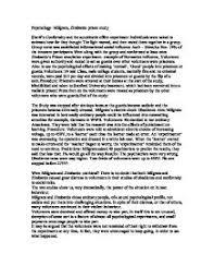 milgram hoffling and zimbardo critically consider the  social psychology milgram zimbardo prison study