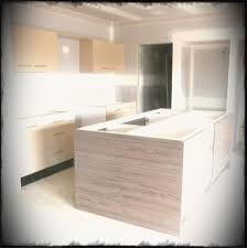 cool kitchen ideas. Cool Kitchen Backsplash Design With Wooden Island As Well Led Lighting Under The Cabinet And Dark Ideas M