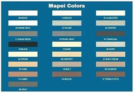 Mapei Color Chart Unique Grout Distributors For 24 Mapei Color Chart Lowes