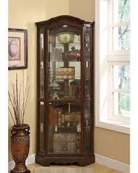 Living Room China Cabinet Curios Cabinets Storage Living Room